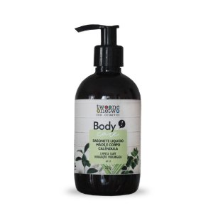 406 - Sabonete Liquido Natural Vegano  Sulfate Free Calêndula Twoone Onetwo 250g