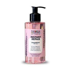 428 - Shampoo Instant Repair Natural Vegano  Jojoba e Coco Twoone Onetwo 250ml