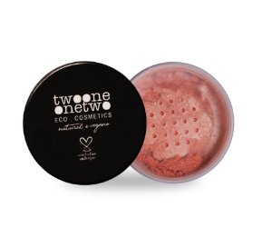801 - Blush Facial Leite de Coco Natural Vegano Twoone Onetwo 9g Peach