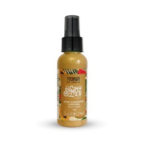 454 - Spray Iluminador Corporal It´s Summer Time Natural Vegano 120ml