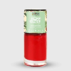 631- Esmalte It´s Summer Time Hipoalergênico Vegano Fortalecedor Twoone Onetwo 10ml Flame Scarlet