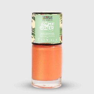 636- Esmalte It´s Summer Time Hipoalergênico Vegano Fortalecedor Twoone Onetwo 10ml Coral Pink