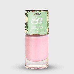 637- Esmalte It´s Summer Time Hipoalergênico Vegano Fortalecedor Twoone Onetwo 10ml Primrose Pink
