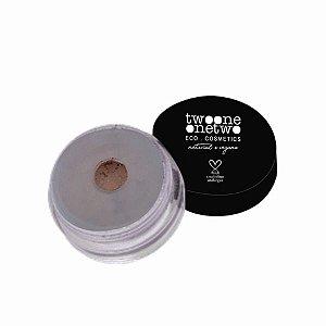 924 - Sombra em Pó Solta Leite de Coco Natural Vegano Twoone Onetwo 5g Sand Beige
