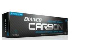 Creme dental BIANCO CARBON CARVÃO ATIVADO 100 gramas 1 unidade