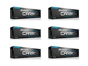 Creme dental BIANCO CARBON CARVÃO ATIVADO 100 gramas 6 unidades