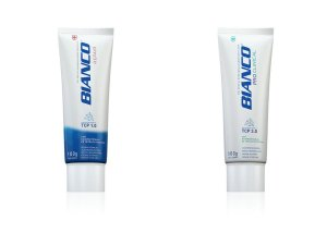 Combo creme dental para sensibilidade BIANCO ADVANCED REPAIR + PRO CLINICAL 100gr