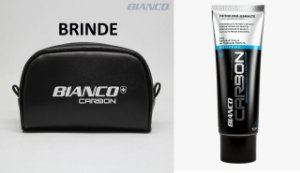 Creme dental BIANCO CARBON CARVÃO ATIVADO 100 gramas 6 unidades + BRINDE