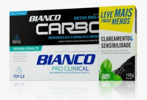 Kit Creme Dental  Clareamento + Sensibilidade 100g cada
