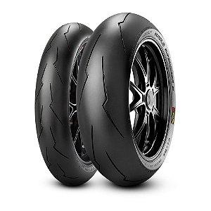 Pneu Pirelli Supercorsa SP V3 120/70-17 e SP V2 180/60 -17 ( Para Uso Rodovia e Track Day )