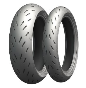 Pneu Michelin Power RS 110/70R17 e 140/70R17 66H (Par)