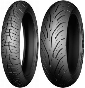 Pneu Michelin Pilot Road 4 Trail 120/70r19 e 170/60ZR17 72V Par