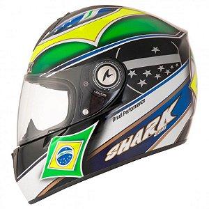 Capacete SHARK RSi S2 Brazil
