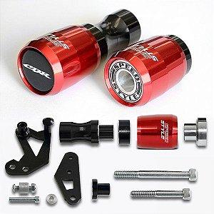 Slider Speed Style Honda CBR 1000 08>11 - Vermelho