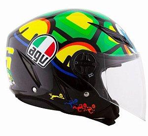 Capacete AGV Blade Turtle (Tartaruga Valentino Rossi)