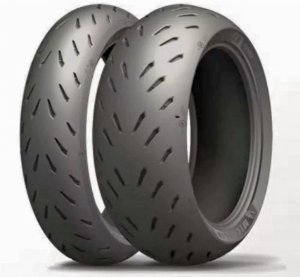 Pneu Michelin Power RS 120/70R17 e 240/45R17 (Par) - Ducati Diavel