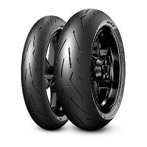Pneu Pirelli Diablo Rosso Corsa ll 120/70R17 e 180/55R17 (Par)