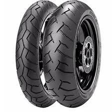 Pneu Pirelli Diablo 120/70R17 e 190/50R17 (Par)