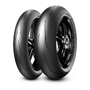 Pneu Pirelli Supercorsa Sc 110/70R17 54w e 140/70ZR17 63w ( Uso Apenas Circuito Fechado ) Par