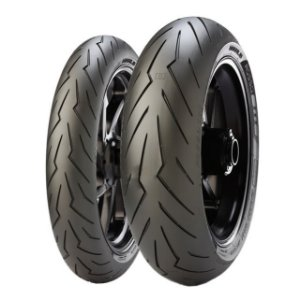 Pneu Pirelli Diablo Rosso lll 120/70R17 e 200/55R17 - (Par)