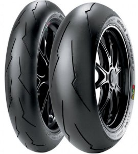 Pneu Pirelli Supercorsa SP V3 120/70R17 e SP V3 190/55R17 -Par ( Para Uso Rodovia e Track Day )
