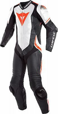 MACACAO DAINESE PRO LAGUNA SECA 4 PERF LEATHE BLK/WHT/FLUO-RED
