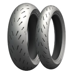 Pneu Michelin Power RS 110/70R17 e 150/60R17 66w (Par)