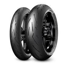 Pneu Pirelli Diablo Rosso Corsa ll 120/70R17 e 190/55R17 (Par)