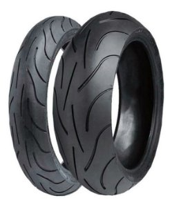 Pneu Michelin Pilot Power 120/70 ZR17 (58w) e 180/55 ZR17 73w ( Par)