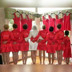 6robe da noiva e madrinhas