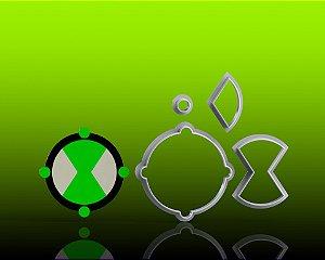 Cortador Ben 10 - Omnitrix Mod 2 Modular
