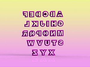 Cortador Alfabeto - Letras