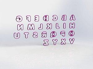 Cortador Alfabeto Mod 2 - Letras
