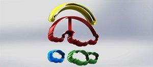 Cortador Arco-Íris Mod 2