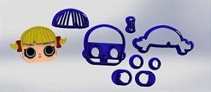 Cortador Kit Lol Surprise  4 modelos Modulares