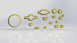 Cortador Kit Minions Modular ( faz 4 modelos)