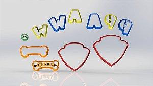 Cortador Kit Patrulha Canina - Logo
