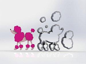Cortador Poodle da Barbie Modular