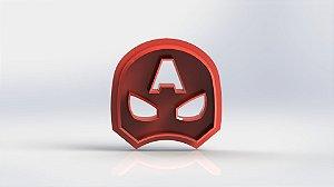 Cortador Capitão América Máscara