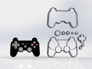 Cortador Controle Playstation Modular