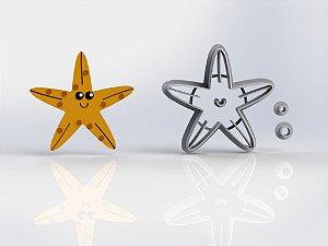 Cortador Estrela do Mar - Fundo do Mar