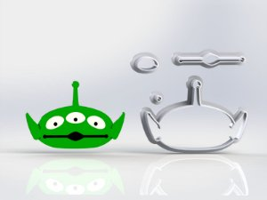 Cortador Toy Story - Aliens Modular