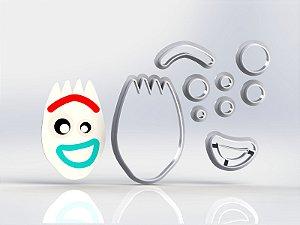 Cortador Toy Story - Garfinho Modular