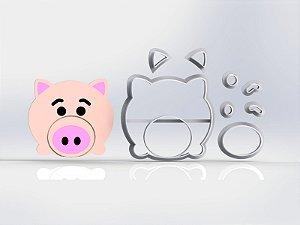 Cortador Toy Story - Porco Modular