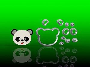 Cortador Panda Rosto Mod 2 Modular