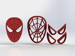 Cortador Heróis - Homem Aranha Modular