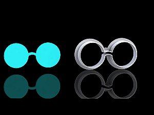 Cortador Harry Potter - Óculos