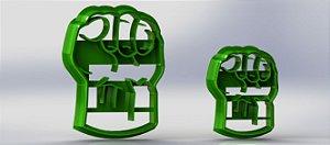 Cortador Heróis - Hulk Mão