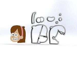 Cortador Gravity Falls - Mabel