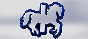 Cortador Cavalo Carrossel
